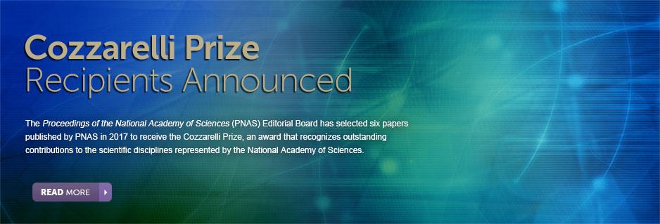 2017 Cozzarelii Prize