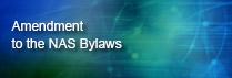 Amendment to NAS Bylaws