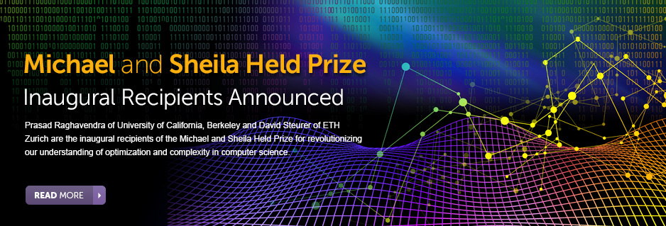 Inaugural Held Prize Announcement