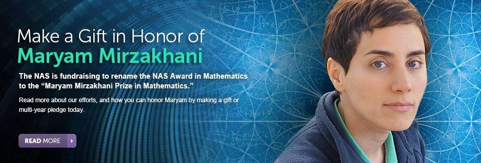 Mirzakhani Prize in Mathematics