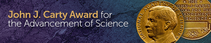 John J. Carty Award for the Advancement of Science