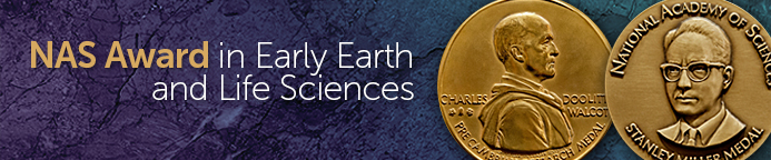 NAS Award in Early Earth and Life Sciences