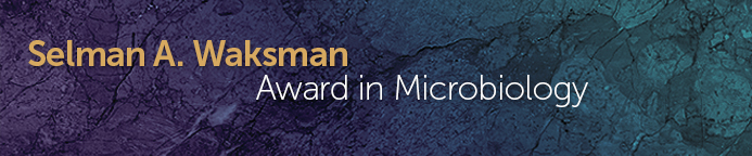 Selman A. Waksman Award in Microbiology