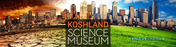 Koshland Science Museum banner