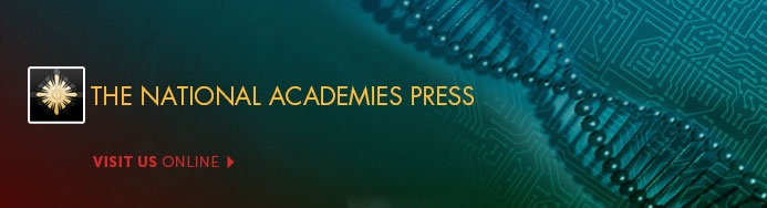 National Academies Press banner