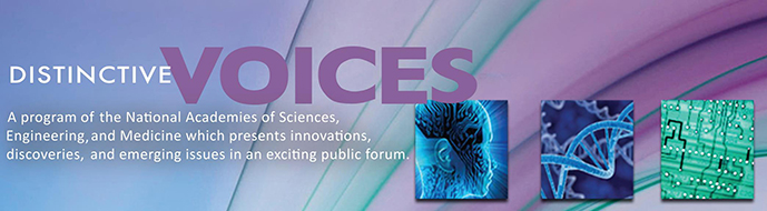 Distinctive Voices banner