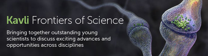 Kavli Frontiers of Science banner