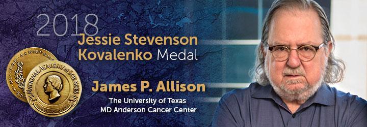 Allison, James 2018 Jessie Stevenson Kovalenko Medal
