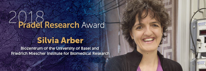 Arber, Silvia 2018 Pradel Research Award
