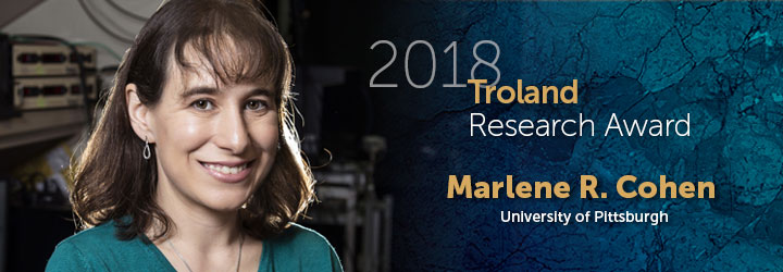 Cohen, Marlene 2018 Troland Research Award