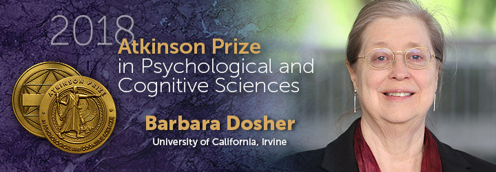Dosher, Barbara 2018 Atkinson Prize