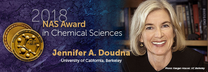 Doudna, Jennifer 2018 Chemical Sciences